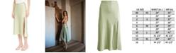 Danielle Bernstein Slip Midi Skirt, Created for Macy's