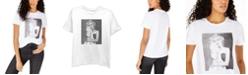 Freeze 24-7 Juniors' Marilyn Monroe Graphic T-Shirt