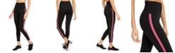 Ideology Pop Stripe High-Waist Leggings, Created for Macy's