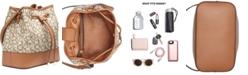 Calvin Klein Signature Gabrianna Bucket Bag