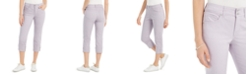 Style & Co Petite Curvy-Fit Cuffed Capri Jeans, Created for Macy's
