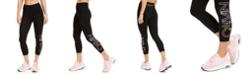 Calvin Klein Logo High-Waist Cropped Leggings