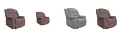 Us Pride Furniture Esteban Manual Recliner