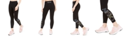 Calvin Klein Outline-Logo High-Waist Cropped Leggings