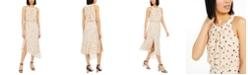 INC International Concepts INC Burnout Animal-Print Asymmetrical Midi Dress, Created for Macy's