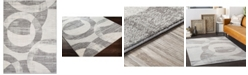 """Abbie & Allie Rugs Chester CHE-2325 Gray 6'7"""" x 9' Area Rug"""