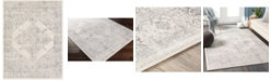 """Abbie & Allie Rugs Roma ROM-2322 Charcoal 5'3"""" x 7'1"""" Area Rug"""