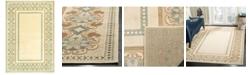 "Martha Stewart Collection Taj Mahal MSR4440A Creme 2'7"" x 4' Area Rug"