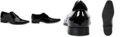 Calvin Klein Men's Brodie Black Patent Oxford