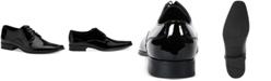 Calvin Klein Men's Brodie Black Patent Oxford
