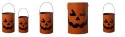 Glitzhome Halloween Jack O Lantern, Set of 2