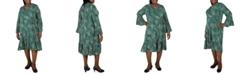 Robbie Bee Plus Size Printed Dress