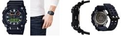 G-Shock Men's Analog-Digital Black Reflective Resin Strap Watch 49.5mm