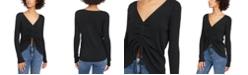 Lucy Paris Lorne Gathered Knit Sweater