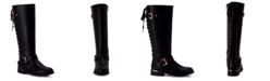 Wanted  Women's Lounge Lace-Back Riding Boots