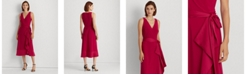 Lauren Ralph Lauren Party Ruffle-Trim Jersey Dress
