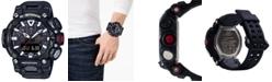G-Shock Men's Analog-Digital GravityMaster Connected Black Resin Strap Watch 63mm