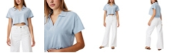 COTTON ON Women's Ryan Shorts Sleeve Polo T-Shirt