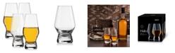 JoyJolt Halo Whiskey Glasses Set of 4