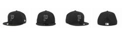 New Era Pittsburgh Pirates Black and White Fashion 59FIFTY Cap