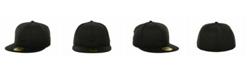New Era Kids' Houston Astros MLB Black on Black Fashion 59FIFTY Cap