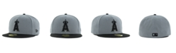 New Era Los Angeles Angels of Anaheim FC Gray Black 59FIFTY Cap