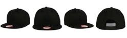 New Era New York Mets Black on Black 9FIFTY Snapback Cap