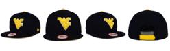 New Era West Virginia Mountaineers Core 9FIFTY Snapback Cap