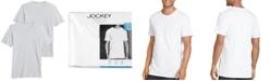 Jockey Men's Big Men 2 Pack Staycool+ Cotton Crewneck Undershirts