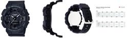 G-Shock Women's Analog-Digtal Black Resin Strap Step Tracker Watch 50mm