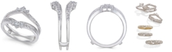 Macy's Diamond Enhancer Ring Guard (5/8 ct. t.w.) in 14k White Gold