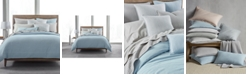 Hotel Collection CLOSEOUT! 525-Thread Count Yarn Dyed Full/Queen Duvet Cover, Created for Macy's