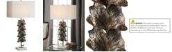 Uttermost Ginkgo Metallic Table Lamp