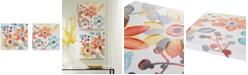 JLA Home   Intelligent Design Sweet Florals 2-Pc. Hand-Embellished Canvas Print Set