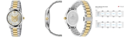 Gucci Men's Swiss G-Timeless Two-Tone Stainless Steel Bracelet Watch 38mm