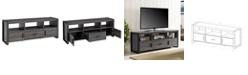 """Walker Edison 60"""" TV Stand Console - Charcoal"""
