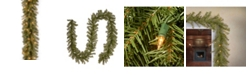 """National Tree Company 9' x 10"""" Norwood Fir Garland with 50 Clear Lights"""