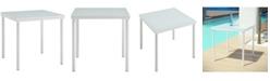 Modway Harmony Outdoor Patio Aluminum Side Table