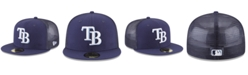 New Era Tampa Bay Rays On-Field Mesh Back 59FIFTY Fitted Cap