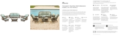 Furniture Sandy Cove Outdoor Wicker 8-Pc. Seating Set (1 Sofa, 2 Swivel Gliders, 2 Ottomans, 1 Coffee Table and 2 End Tables), Created for Macy's