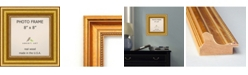 """Amanti Art Townhouse Gold 8"""" X 8"""" Opening Wall Picture Photo Frame"""