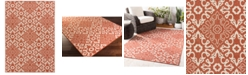 "Surya Alfresco ALF-9636 Rust 8'9"" x 12'9"" Area Rug, Indoor/Outdoor"