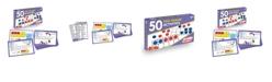 Junior Learning 50 Ten Frame Activities Learning Set