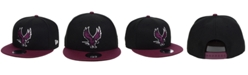 New Era North Carolina Central University Eagles Black Team Color 9FIFTY Snapback Cap