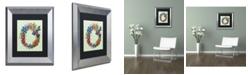 """Trademark Global Jennifer Nilsson Season of Blessings-Summer Matted Framed Art - 18"""" x 24"""" x 2"""""""