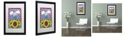 "Trademark Global Jennifer Nilsson Country Charm Matted Framed Art - 11"" x 14"" x 0.5"""