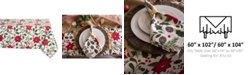 "Design Import Woodland Christmas Tablecloth 60"" x 104"""