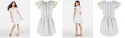 Epic Threads Little Girls Cotton Tassel-Trim Peasant Dress, Created for Macy's