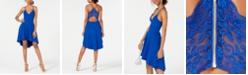 B Darlin Juniors' Racerback High-Low Dress, Created for Macy's