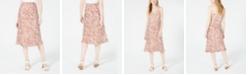4SI3NNA Printed Midi Skirt